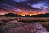 Moraine Park,Estes Park,Big Thompson River,Sunrise,November,RMNP,Rocky Mountain National Park,Colorado,Landscape,Photography,Colorful,Bear Lake Road,Eagle Cliff Mountain