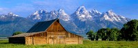 Grand Teton National Park, Mormon Row, Jackson Hole, Wyoming, Barns