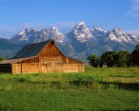 Grand Teton National Park, Mormon Row, Jackon Hole, Barns