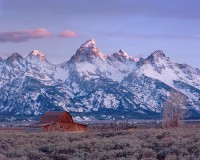 Grand Teton National Park, Mormon Row, Moulton Barn, Jackson Hole, Wyoming