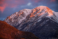 Mount Chapin,March,Winter,Sunrise,Landscape,Photography,RMNP,Colorado,Rocky Mountain National Park,Mummy Range,Estes Park,Horseshoe Park,Frederick H. Chapin,Colorado Mountain Club