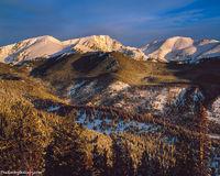 Rocky Mountain National Park, Mummy Range, Estes Park, Trail Ridge Road, Snow, Colorado,RMNP,Ypsilon Mountain,Fairchild Mountain,Mount Chaquita, landscape,photography,large format,film,sunrise