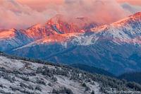 Never Summer Mountains,August,Trail Ridge Road,West Side,Mount Nimbus,First Snow,RMNP,Estes Park,Grand Lake,Landscape, Photography ,Rocky Mountain National Park,Colorado