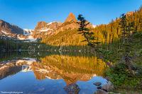 Rocky Mountain National Park,Odessa Lake,Notchtop Mountain,Little Matterhorn,Bear Lake,Colorado,blue,reflections,mirror,RMNP,Bear Lake Trailhead,Landscape,Photography,Camping,Hiking