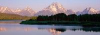Oxbow Bend, Grand Teton National Park, Wyoming, Mt. Moran, River