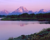 Oxbow Bend, Grand Teton National Park, Mt. Moran, Snake River