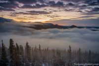 Rainbow Curve,Trail Ridge Road,Estes Park,Grand Lake,RMNP,Rocky Mountain National Park,Colorado,Inversion,May,Sunrise,McGregor Mountain,Dark Mountain,Mummy Range,Timberline,landscape,photography,Horse