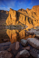 Longs Peak,Ships Prow,Chasm Lake,Rocky Mountain National Park,Colorado,Reflection,morning,Rocky,Estes Park