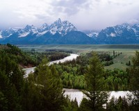 Snake River, Jackson Hole, Grand Teton National Park, Ansel Adams, Wyoming