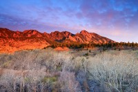 Boulder, Colorado, Open Space, OSMP, South Boulder Peak, South Boulder Creek, Sunrise, Spring