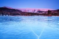 Sprague Lake,Winter,sunrise,Rocky Mountain National Park,Colorado,ice,Hallet,Flattop,Otis,Thatchtop,Mountain