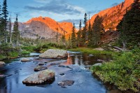 Rocky Mountain National Park, Colorado, Loch Vale, The Loch, Sunrise,Glacier Gorge,Trailhead,Landscape,Photography,RMNP,Estes Park,Mount Taylor,Reflections,