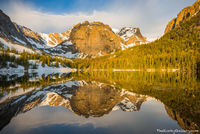 The Loch,Loch Vale,Sunrise,Cathederal Wall,Taylor Peak,Reflection,Photography,Landscape,RMNP,Colorado,Estes Park,Bear Lake Road,Glacier Gorge,Rocky Mountain National Park,June