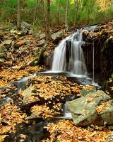 Harriman State Park, New York, Tioratti Falls, Autumn, Fall Color