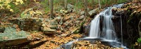 Harriman State Park, Tioratti Falls, New York, Hudson Valley, Fall