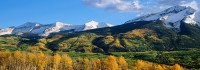 Colorado, Kebler Pass, West Elk Mountains, Crested Butte, Fall, Aspen