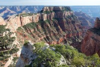 Grand Canyon, National Park, Arizona, North Rim, Cape Royal, Wootons Throne