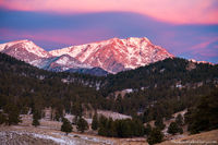Upper Beaver Meadows,Ypsilon Mountain,Mummy Range,January,Sunrise,Lenticular Cloud,Wave Cloud,RMNP,Colorado,Rocky Mountain National Park,Landscape,Photography,Estes Park