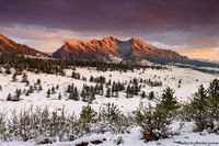 Boulder, Colorado, Flatirons, Snow, Sunrise, OSMP, Open Space,Sunrise,Landscape,Photography,Mountains