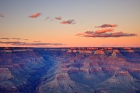 Arizona, Grand Canyon, National Park, Bright Angel Canyon, Mather Point, Sunset, Clouds, South Rim