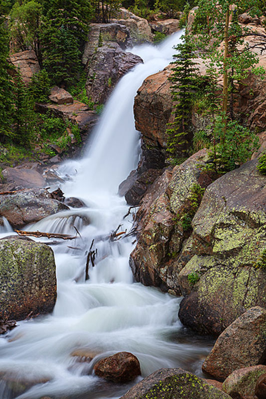 Alberta Falls Spring Runoff