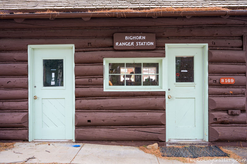 Bighorn Ranger Station,Fall River Entrance Historic District,Fall River,Fall River Road,Rustic,Estes Park,Colorado,RMNP,Rocky Mountain National Park,Landscape,Photography,January,Doors,National Park S
