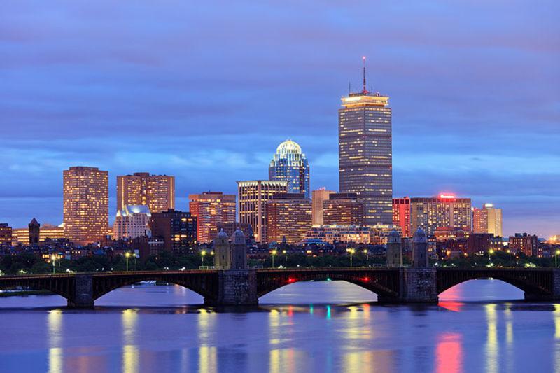 Boston Skyline and Charles River