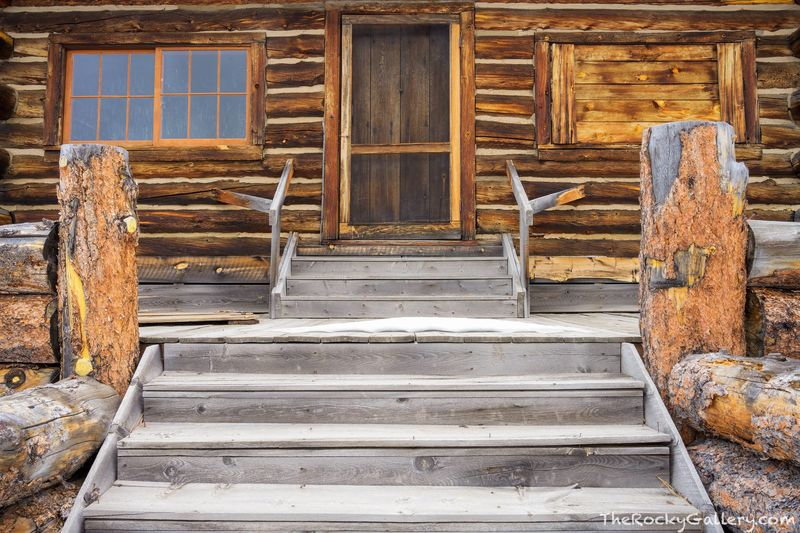 Moraine Park,Cabin,720,Bear Lake Road,Hand of Man,RMNP,Colorado,Rocky Mountain National Park,Estes Park,Landscape,Photography,January,Steads Ranch