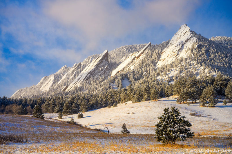 Chautauqua, Park,Meadow,March,Snow,Sunrise,Flatirons,Boulder,Colorado,Baseline Road,Open Space and Mountain Parks,OSMP,landscape,photography
