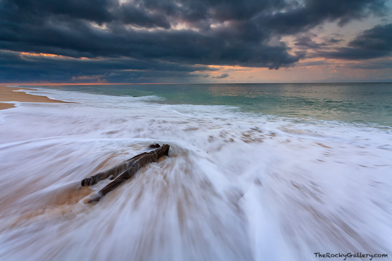 Clearing Storm and Driftwood