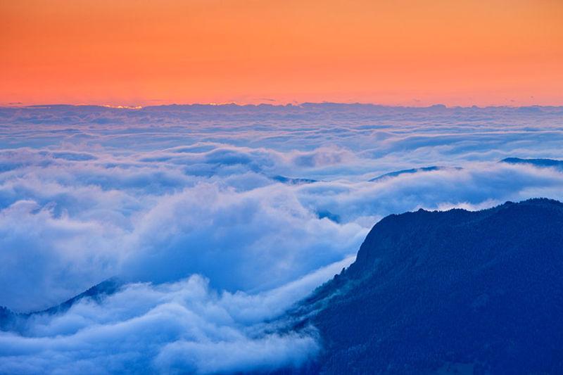 Clouds Below Deer Mountain
