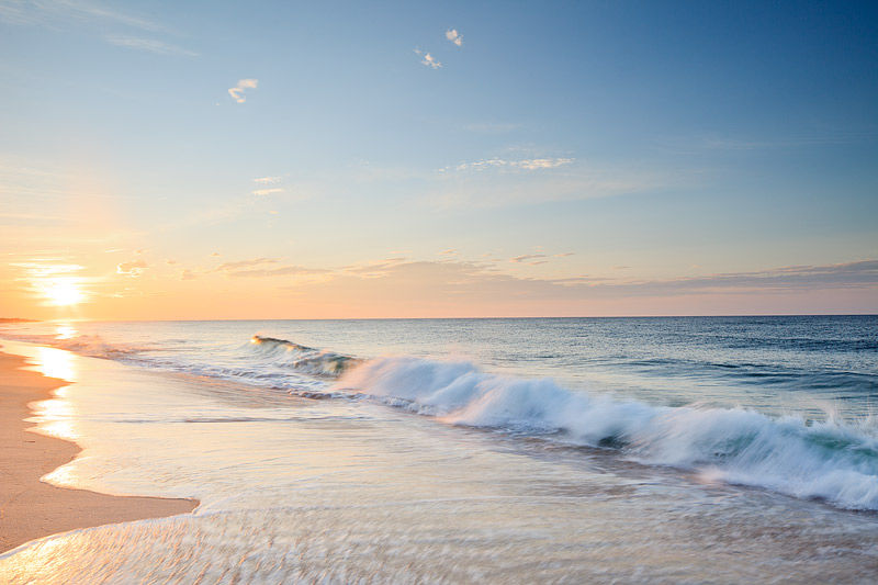 Morning At Dune Beach