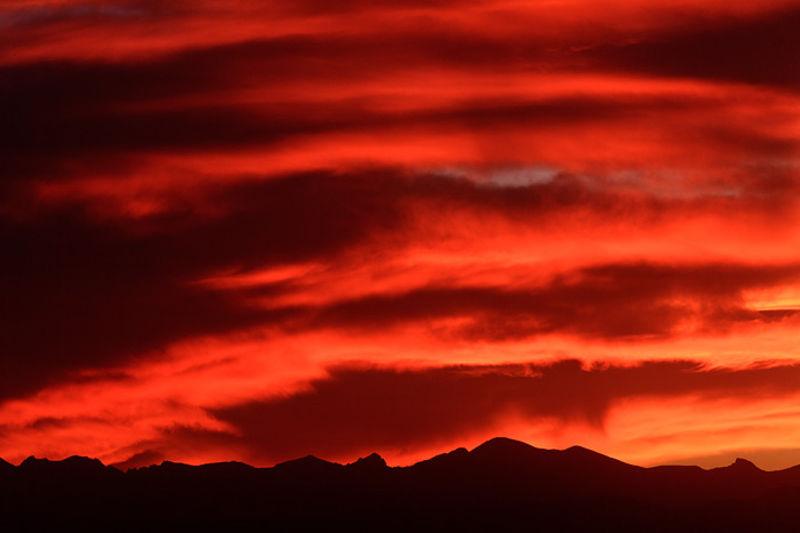 Erie, Indian Peaks Wilderness, Pawnee Peaks, Sunset, Front Range