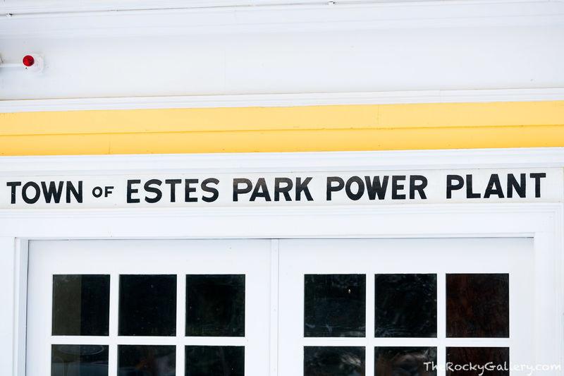 Estes Park Power Plant, Estes Park Hydroelectric Plant,museum,Rocky Mountain National Park,FO Stanley,Fall River,Colorado,Landscape,Photography,Sign,RMNP,Estes Park,hand of man