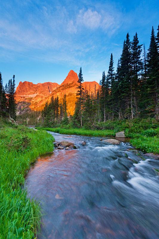 The Little Matterhorn and Fern Creek