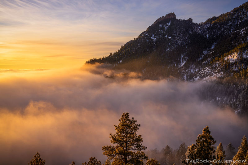 February,Sunrise,Flatirons,Gregory Canyon,Chautauqua Park,Landscape,Photography,Boulder,Colorado,Open Space and Mountain Parks,OSMP,Flagstaff Mountain