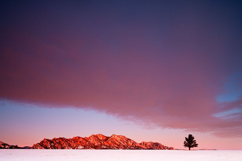 One Tree Hill Sunrise