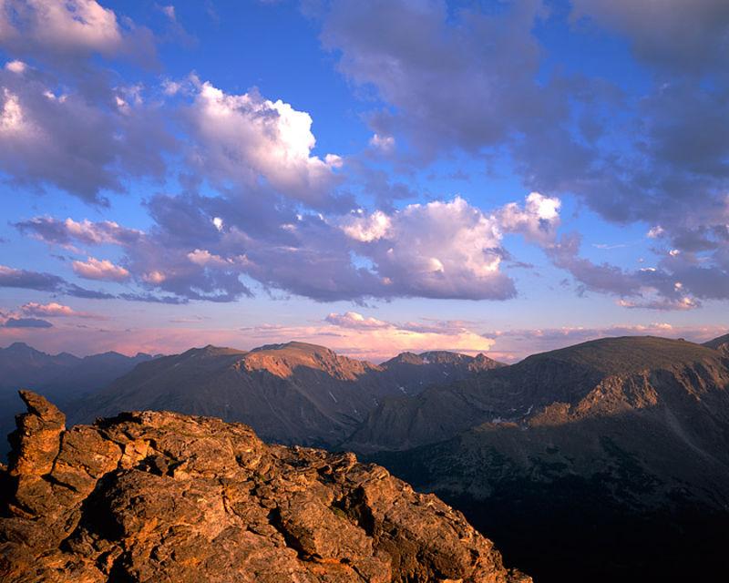 Rocky Mountain National Park, Colorado, Trail Ridge Road, Forest Canyon, Alpine tundra