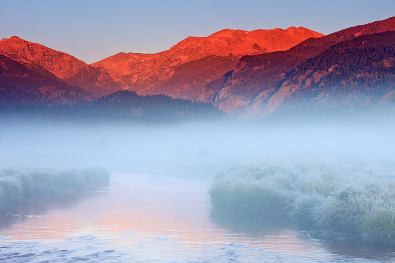 Mystical Moraine Morning