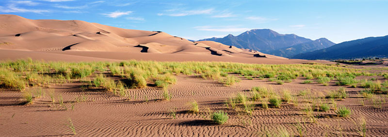 Great Sand Dunes and Mt. Medano