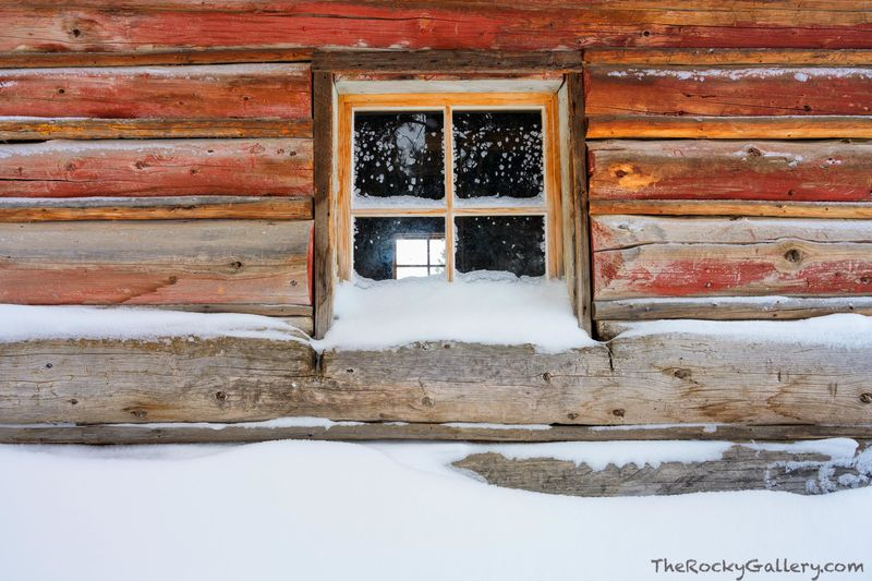 Never Summer Mountains,Joseph Fleshut,Cabin,Holzwarth Ranch,Holzwarth Historical Site,January,Winter,Snow,NPS,RMNP,Colorado,Landscape,Photography,Hand Of Man,Rocky Mountain National Park,Trail Ridge R