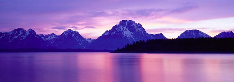 Jackson Lake Dusk