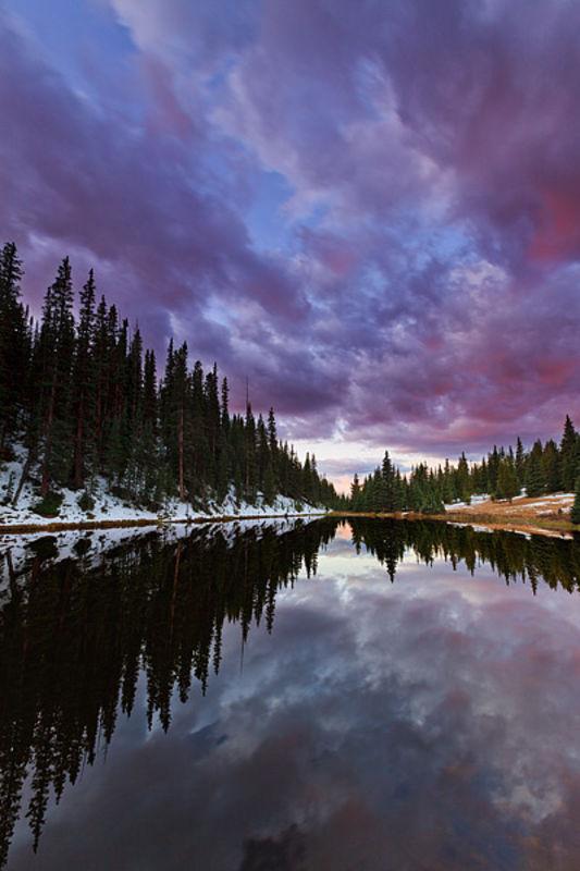 Lake Irene Color Vortex