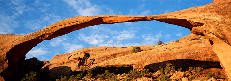 Landscape Arch Panoramic