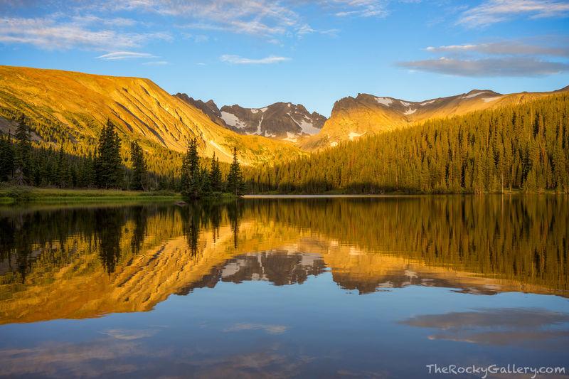 Brainard Lake Recreation Area,Indian Peaks,Sunrise,Reflection,Ward,Colorado,Shoshone Peak,Niwot Ridge,Landscape,Photography,tundra,August