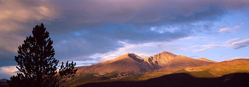 Longs Peak View from Twin Sisters