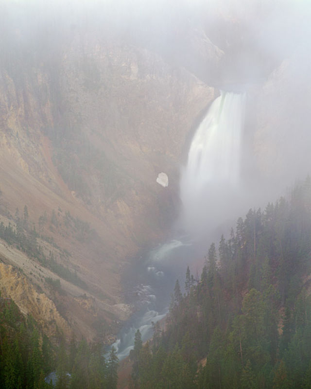 Misty Mountain Falls - Yellowstone