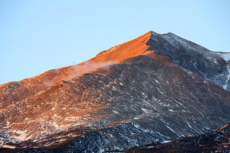 Daybreak On Mount Meeker
