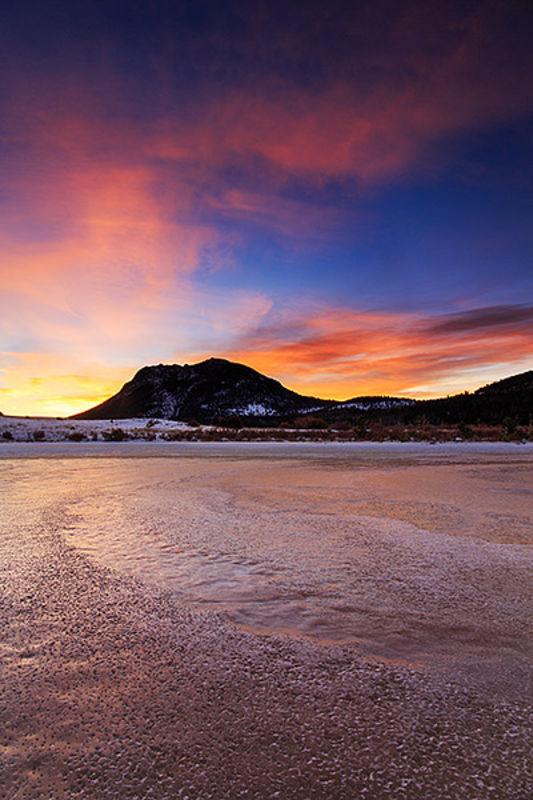 Winter On Sheep Lake