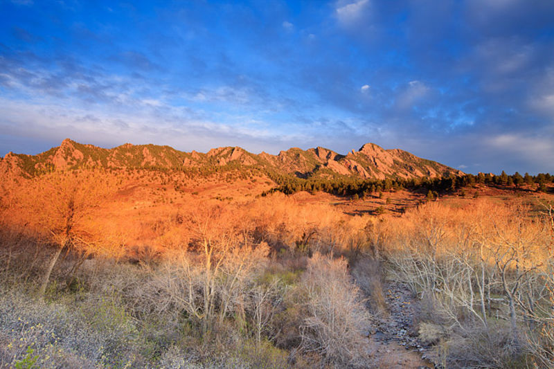 South Boulder Creek Sunrise
